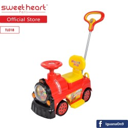 'Sweet Heart Paris TL018 Little Truck Design Ride On Car (Red)'