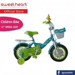 Sweet Heart Paris CB1201 HIPPO Children Bicycle (White/Blue)\''