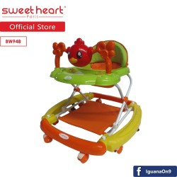 'Sweet Heart Paris BW948 Baby Walker (Orange)'
