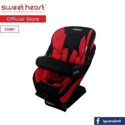 Sweet Heart Paris CS301 Adjustable Armrest Car Seat (Black Red)\''
