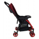 Sweet Heart Paris ST260 Compact Dirt Repellent Stroller (Red) with Reversible One-Handed Folding System