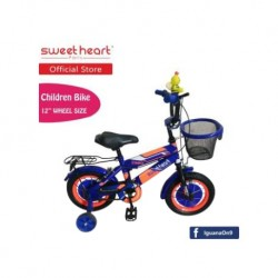 Sweet Heart Paris CB1201 C-MAX Children Bicycle (Blue) Suitable from 2 to 5 years old\''