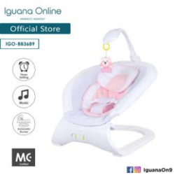 Iguana Online Baby Bouncer Space Chair BB3689 with Music and Timer