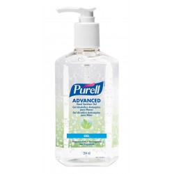PURELL Advanced Instant Hand Sanitizer - Fragrance Free (12 fl oz)