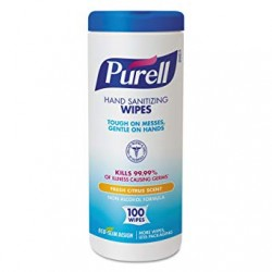 PURELL Non-Alcohol Sanitizing Wipes Citrus Scent (100 Wipes)