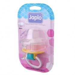 Japlo Saan Baby Pacifier - (With Cover) - Silicone Olive Teat