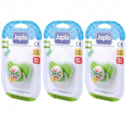 Japlo Pro New Born Pacifier  - 1 pcs x 3 Blister Cards (3 Blister Cards in 1)