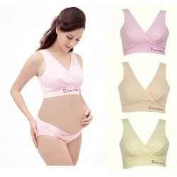 Kimi Mommy Maternity Nursing Bra - Wireless - Crossover Supportive Sleep Bra