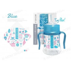 Mother-k Stawcup (200ml - Blue)