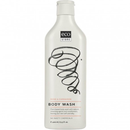ecostore BODY WASH - Rose & Cardamon