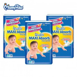 MamyPoko Maxi Absorb L38 (3 Packs)