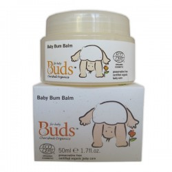 Buds Cherished Organics Baby Bum Balm 50ml