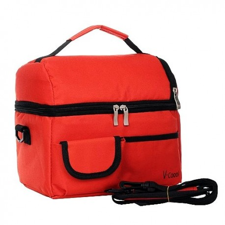 V-Coool Cooler Bag (Wine Red)