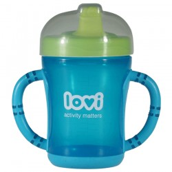 'Lovi Easy Start Spout Cup-Blue'