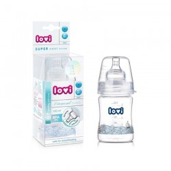 'Lovi Diamond Glass Bottle 150ml 0M+'