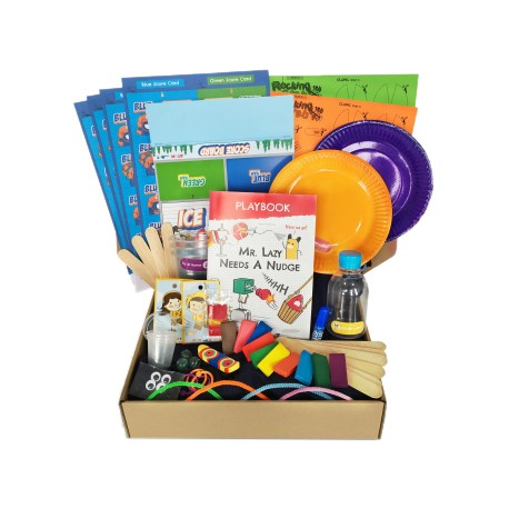 Arts and Science Surprise Box - Atom & The Dot (Mr.Lazy Needs A Nudge)
