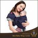 Mamaway Baby Ring Sling - Blueberry Brownie