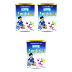 Suffy Pure Goat (1 year above) 400g (3 tin)