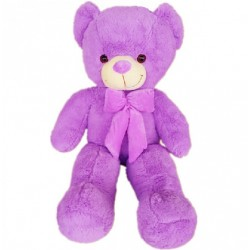 Maylee Big Plush Teddy Bear (L) 100cm Purple