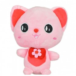 Maylee Cute Plush Cat 19cm (Pink)