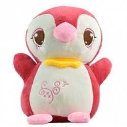 Maylee Cute Plush Penguin 25cm (Maroon)