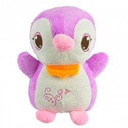 Maylee Cute Plush Penguin 25cm (Purple)