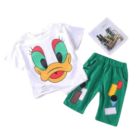 MioSunshine Donald Top & Shorts Set