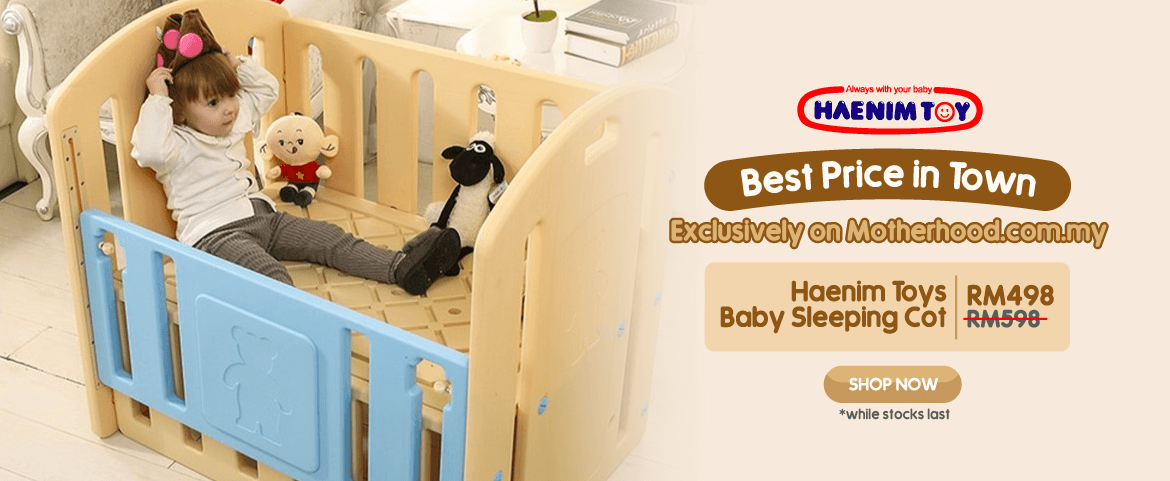 Haenim Toys Baby Sleeping Cot