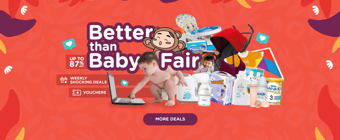 f2a804f0d528e Motherhood Privilege card; Enfagrow A+ Free Sample; Better Than Baby Fair.  Collect e-voucher and enjoy weekly starbuys ...