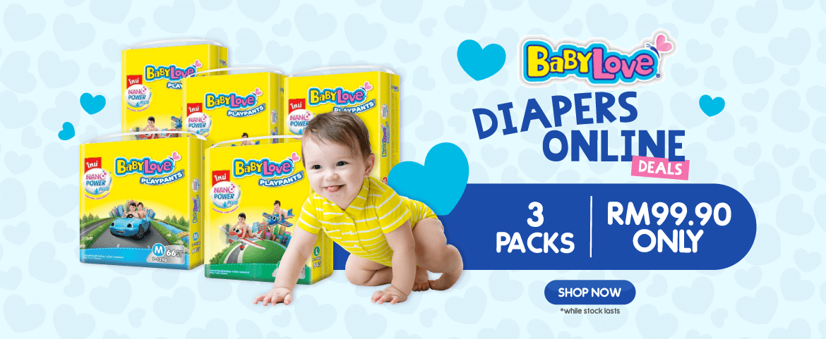 BabyLove Diapers Promotion