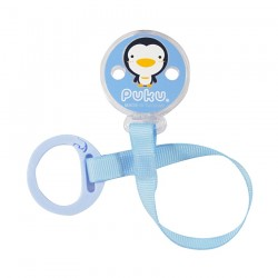 PUKU Baby Pacifier Soother Chain Strap Blue P11107