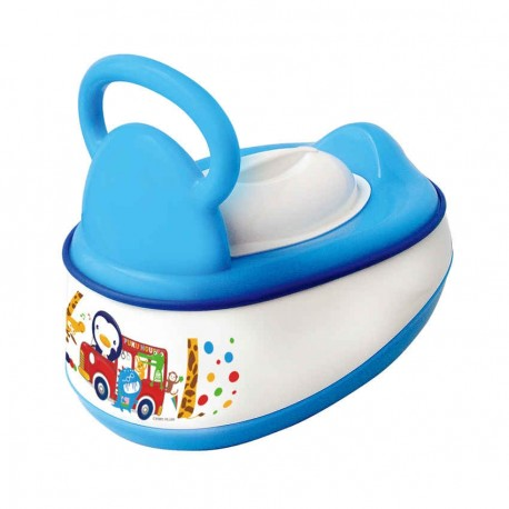PUKU 5 In 1 Baby Potty Blue