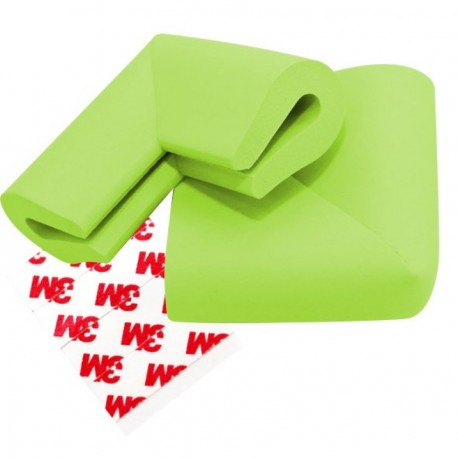 PUKU U Shape Desk Corner Guard Edge Cushion Child Home Safety 4 pcs Green