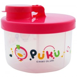 PUKU Baby Milk Powder Container Dispenser 100ml / Layer Pink P11011-899