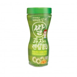 Ivenet Bebe Finger Rice Snack With Lentil - Spinach (30g)