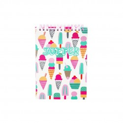 Inky Ice Cream Jotter