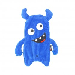 Inky Munch Monster Plush Pencil Case (Blue)