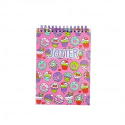 Inky Cupcake Jotter