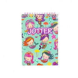 Inky Mermaid Wiro Jotter