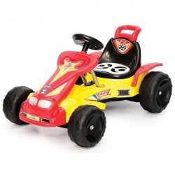 My Dear Go Kart-Yellow Red