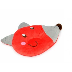 My Dear Soft Pillow (Red Grey)