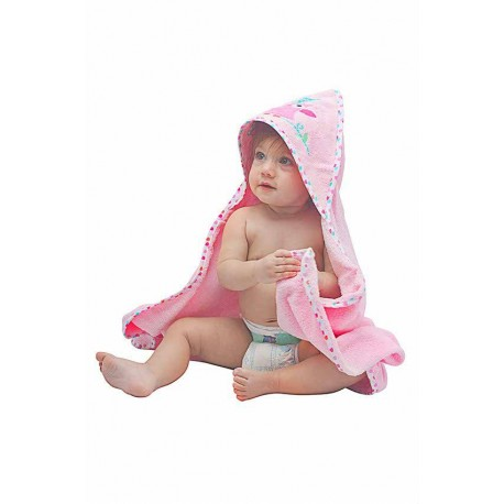OWEN Owl Hooded Towel with Washcloth