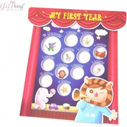 GIFTHING Baby & Friends Photo Frame-for newborn birth party gift toddler baby