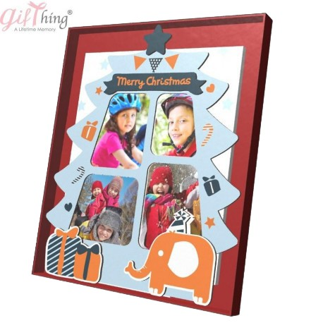 GIFTHING Jungle Ocean Xmas Photo Frame - for newborn birth party gift toddler baby