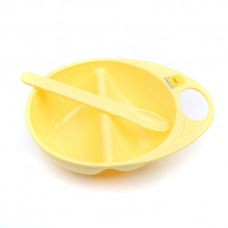 Piyo Piyo Cereal Bowl (Bowl+Spoon) 1 Set