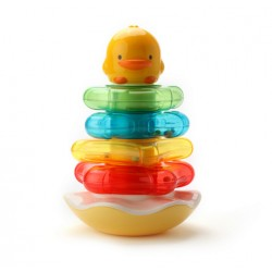 Piyo Piyo Rocking Rattle Stacker
