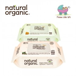 Natural Organic Baby Wipes - Original Captype Series (2 Packs)