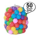 Royalcot 50 pieces Colourful Ocean Ball Soft Plastic