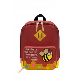Nick & Nic Foldable Backpack - Bee Plum Purple