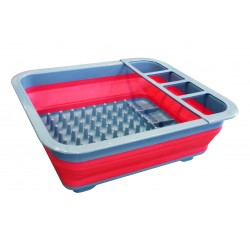 Simple Dimple Collapsible Tray - Red / Blue
